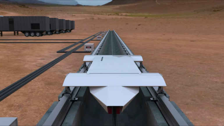 Hyperloop Technologies To Test Ultra-Fast Transport System-1