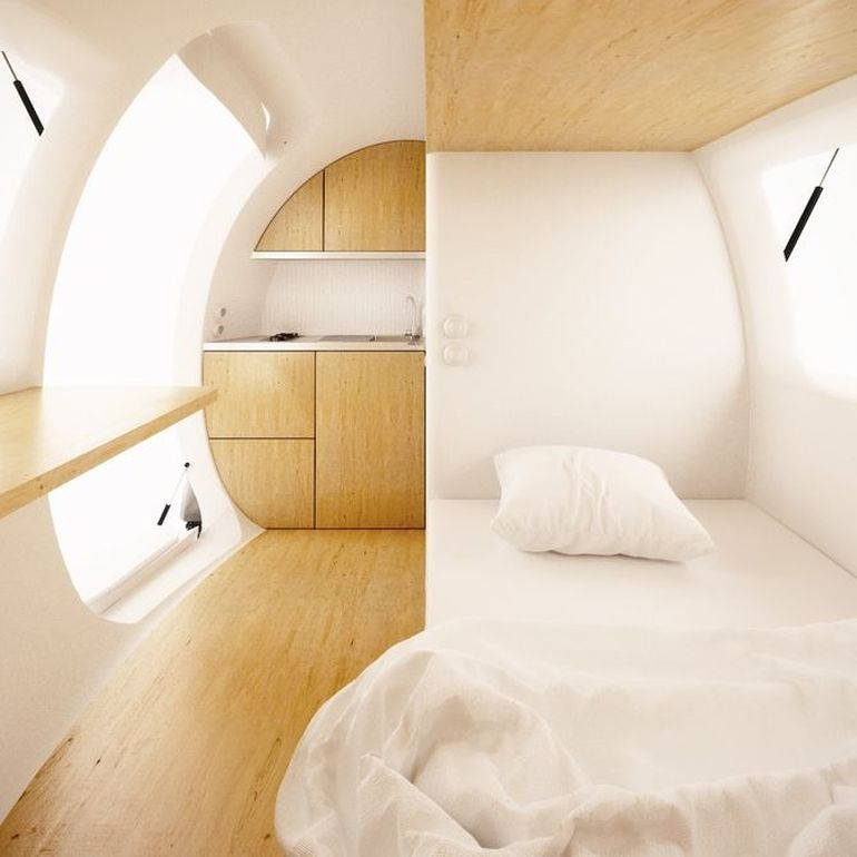 Sustainably-Powered Ecocapsule Micro Dwelling Now Up For Sale-2