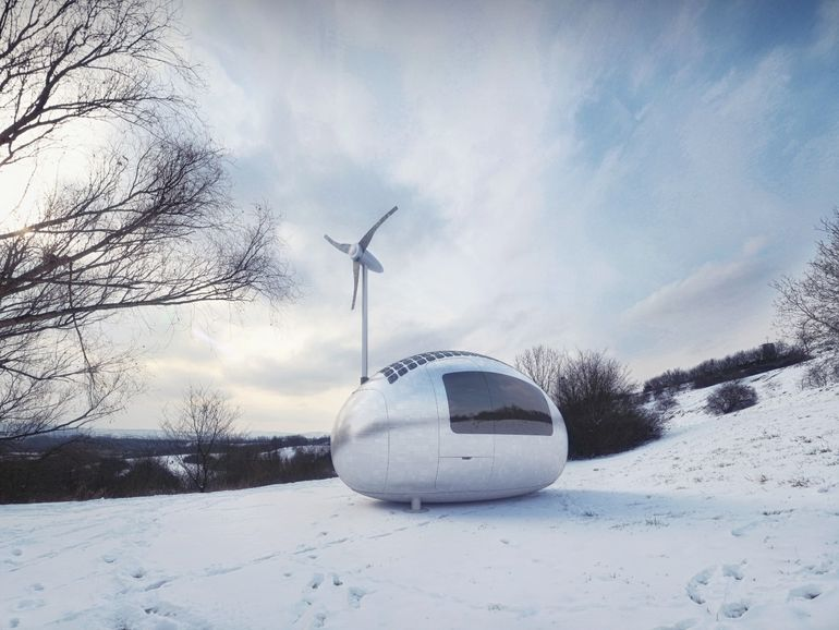 Sustainably-Powered Ecocapsule Micro Dwelling Now Up For Sale-3