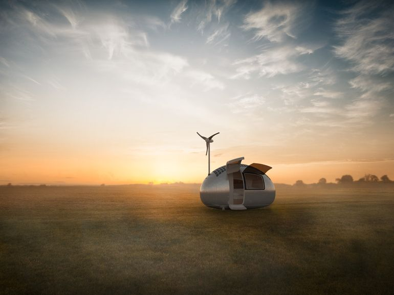 Sustainably-Powered Ecocapsule Micro Dwelling Now Up For Sale-6