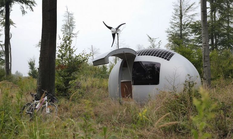 Sustainably-Powered Ecocapsule Micro Dwelling Now Up For Sale-7