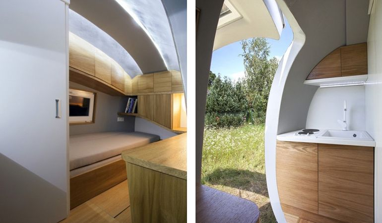 Sustainably-Powered Ecocapsule Micro Dwelling Now Up For Sale-9