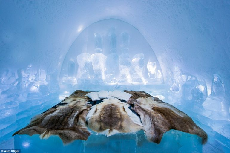 The Stunning Icehotel In Swedish Lapland Opens Doors To Guests-11