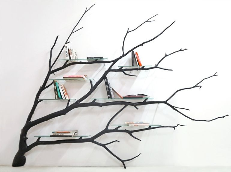 Bilbao_Bookshelf_Created_From_Fallen_Tree_Branch_2
