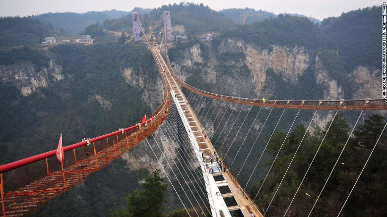China Is Gearing Up To Unveil World's Longest Glass-Bottomed Bridge-1