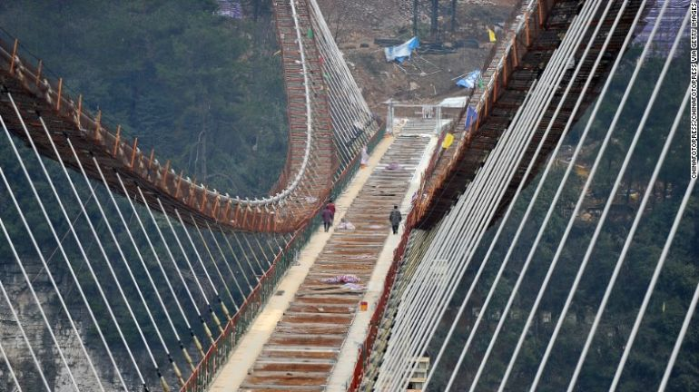 China Is Gearing Up To Unveil World's Longest Glass-Bottomed Bridge-4
