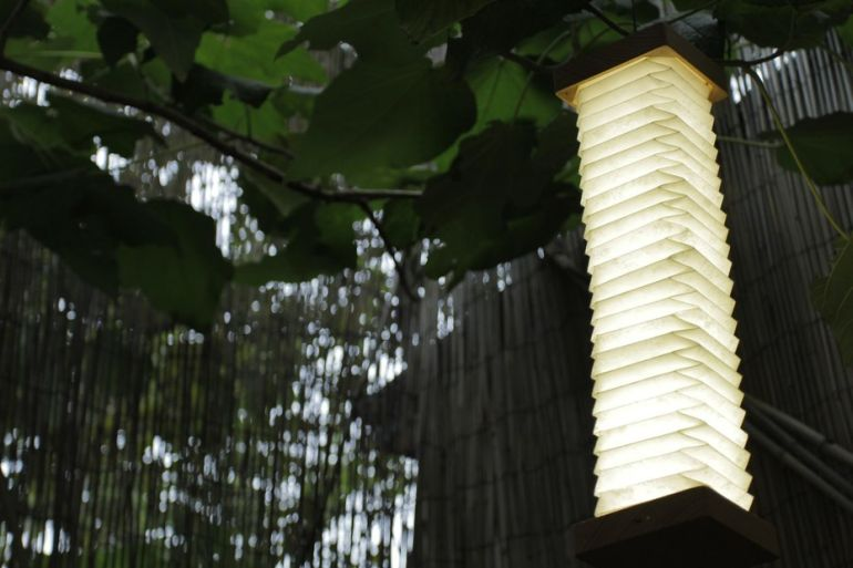 This Stunning, Bluetooth-Enabled Lamp Folds Like An Accordion-2