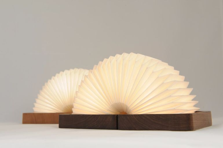This Stunning, Bluetooth-Enabled Lamp Folds Like An Accordion-9