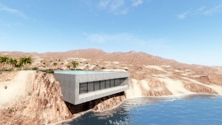Aqua Casa A Desert Home That Produces All The Energy It Requires-1