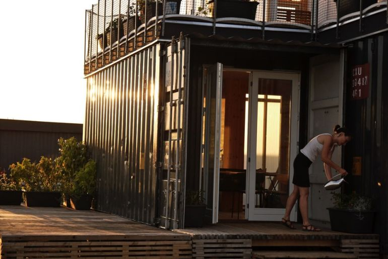 Copenhagen To Build Student Homes Using Repurposed Shipping Containers-5
