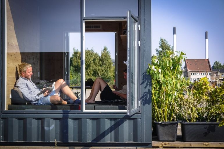 Copenhagen To Build Student Homes Using Repurposed Shipping Containers-6