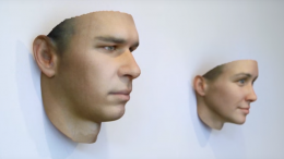 DNA In Discarded Cigarettes And Gum Used To Create Human-Like Masks-1