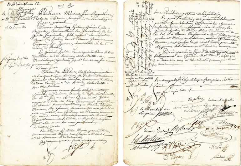 Document Signed By French Emperor Napoleon To Sell For $20,000-1
