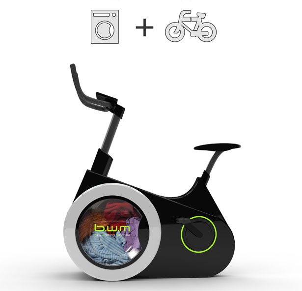 Ingenious Stationary Bike Doubles As A Human-Powered Washing Machine-4