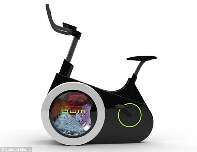 Ingenious Stationary Bike Doubles As A Human-Powered Washing Machine-5