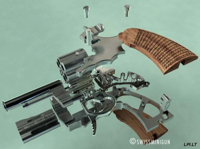 Meet Swiss Mini Gun, The World's Tiniest Fully-Functioning Firearm-4