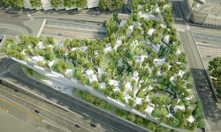 Paris To Get Tree-Topped Residential Complex That Looks Like A Ship-10