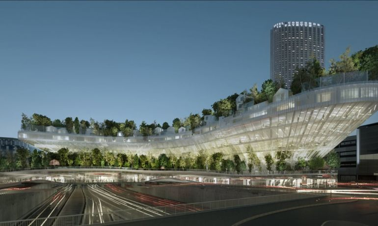 Paris To Get Tree-Topped Residential Complex That Looks Like A Ship-5