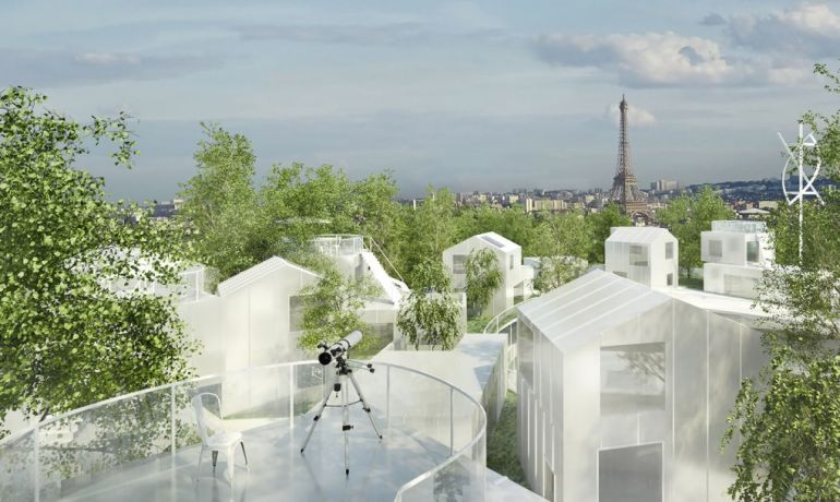 Paris To Get Tree-Topped Residential Complex That Looks Like A Ship-6
