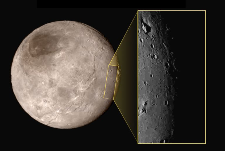 Pluto's largest moon Charon has deep chasms that may have been formed by an ancient ocean-2