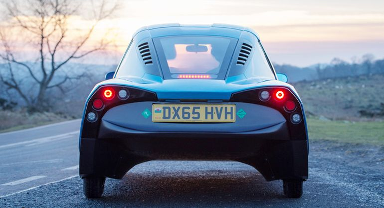 Rasa A Hydrogen-Powered Electric Car With The Lowest Carbon Emissions-2