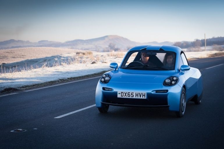 Rasa A Hydrogen-Powered Electric Car With The Lowest Carbon Emissions-6