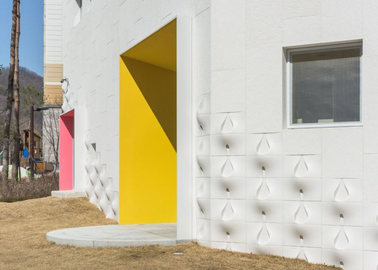South Korea's Flower Kindergarten Boasts Brilliantly Playful Interiors-3