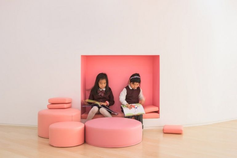 South Korea's Flower Kindergarten Boasts Brilliantly Playful Interiors-7