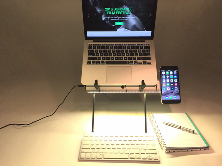 X Stand Promises Reduced Eye Strain And Back Pain While Working-8