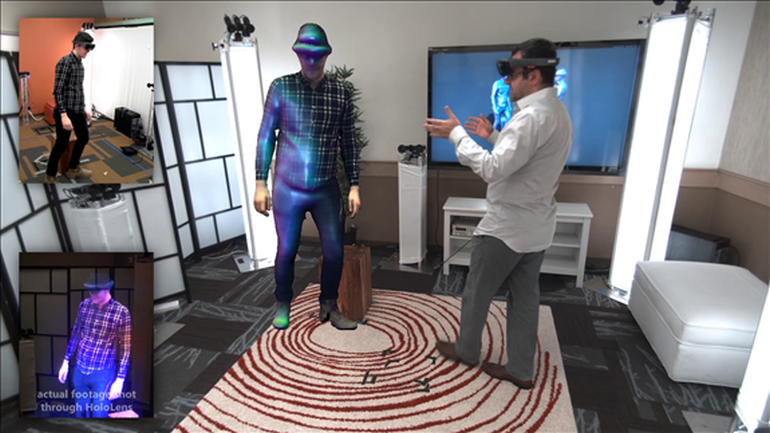 Microsoft's Holoportation Allows Real-Time Interaction in VR-4