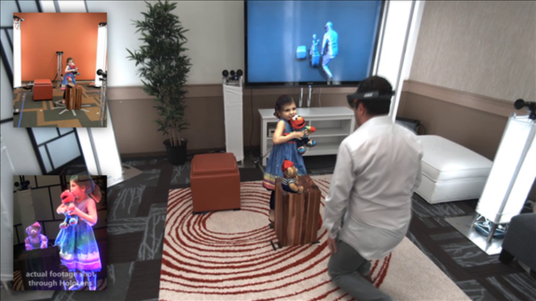 Microsoft's Holoportation Allows Real-Time Interaction in VR-6
