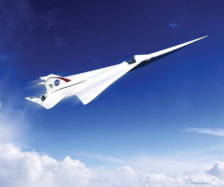 NASA-Lockheed Martin Duo To Develop Quieter Supersonic Jet-1