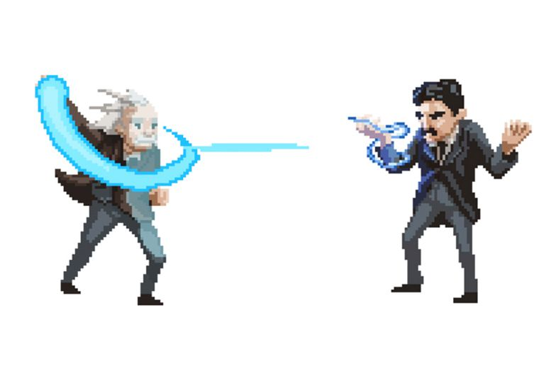 Arcade Game Allows You To Fight It Out As Your Favorite Scientist-3