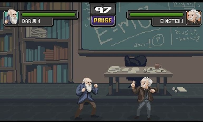 Arcade Game Allows You To Fight It Out As Your Favorite Scientist-4
