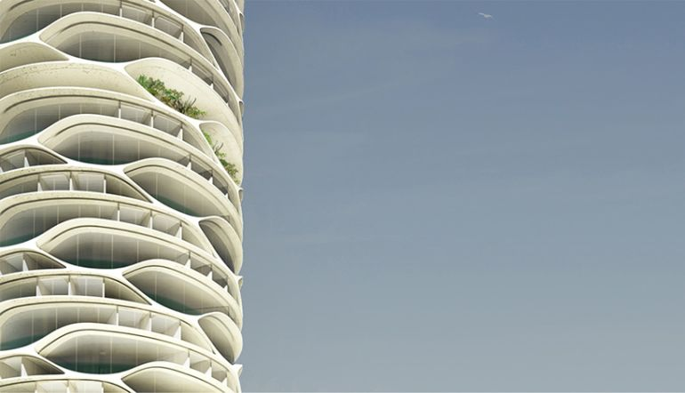 Architect Envisions Spectacular Cellular Skyscraper For Tel Aviv-4