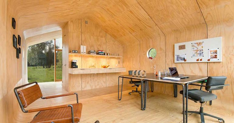 Designers Build Modular Homes Using Recyclable Cardboard-6