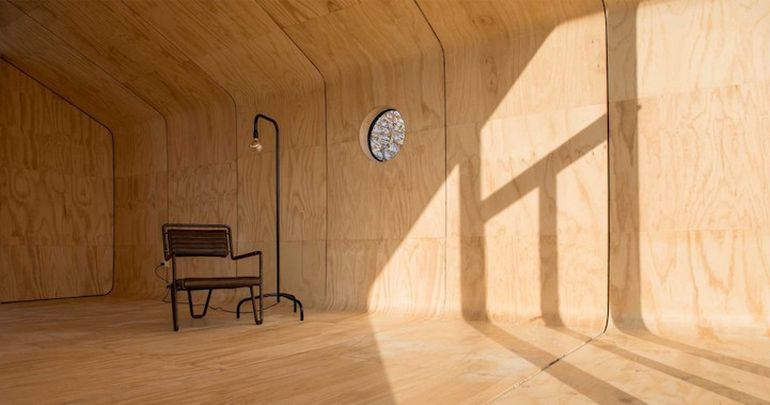 Designers Build Modular Homes Using Recyclable Cardboard-9
