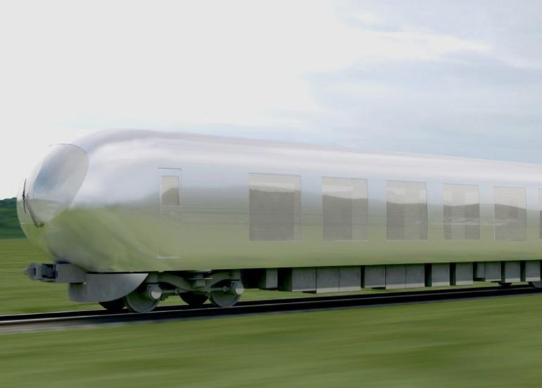 Near-Invisible Trains Will Be Plying Across Japan By 2018!-1