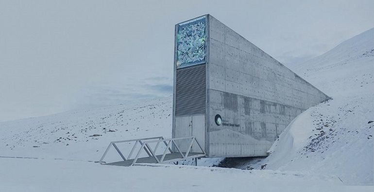 Norway's Irradiant Mountain Vault Preserves Over 850,000 Seeds-4