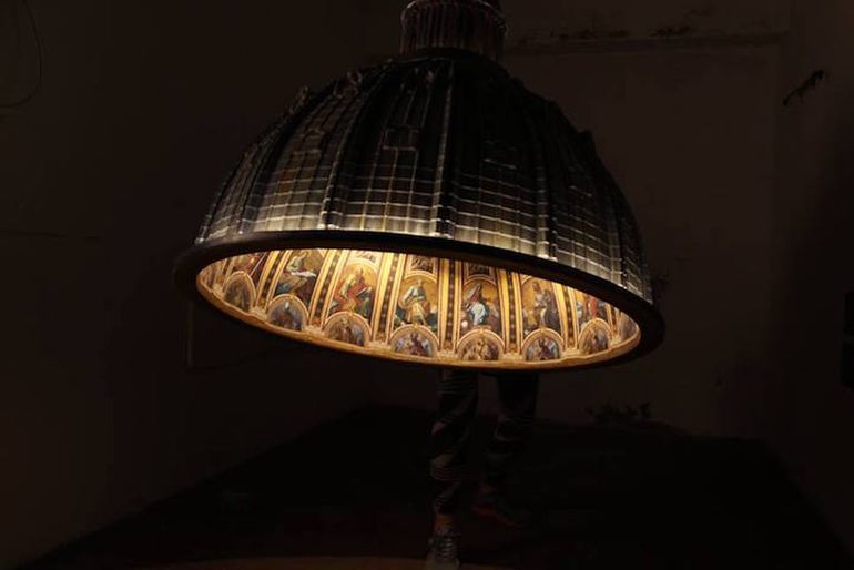 Designers Craft Ornate Lamp Shaped Like St. Peter's Basilica-2