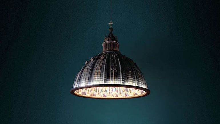 Designers Craft Ornate Lamp Shaped Like St. Peter's Basilica-8