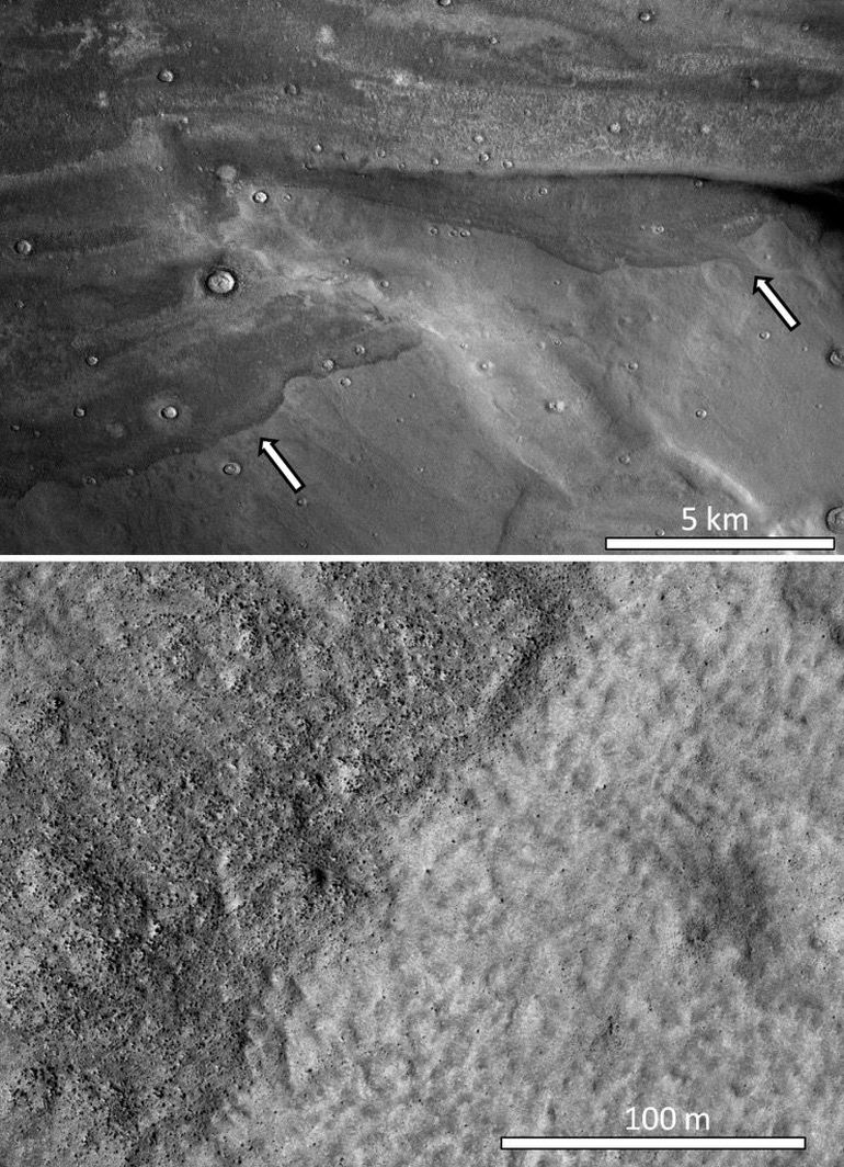 Giant Tsunamis Flooded Mars' Surface Some 3.4 Billion Years Ago-1