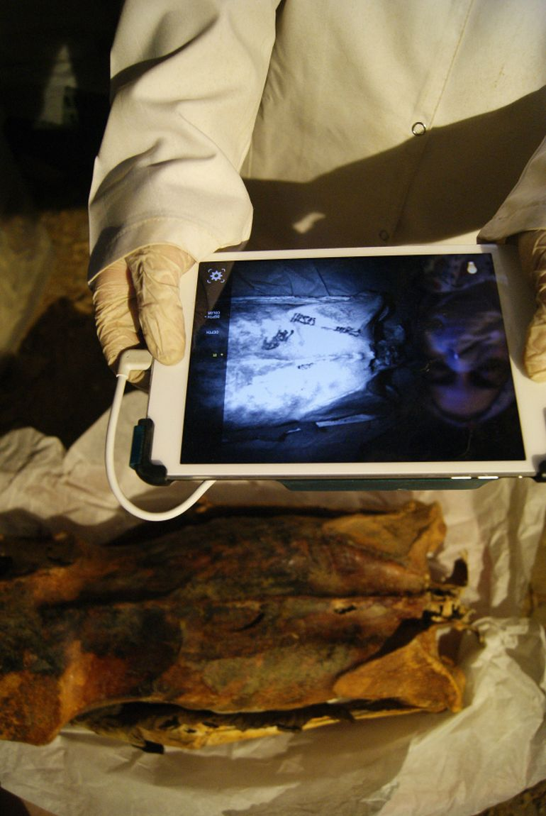 Researchers Find 3000-Year-Old Egyptian Covered In Ornate Tattoos-3