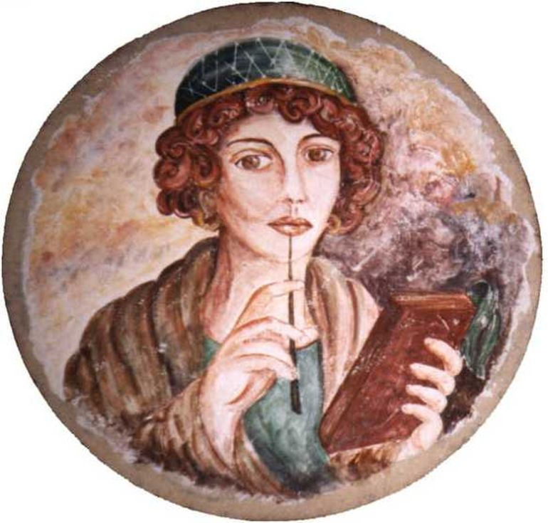 Researchers Use Astronomy To Date Sappho's 2,500-Year-Old Poem-2