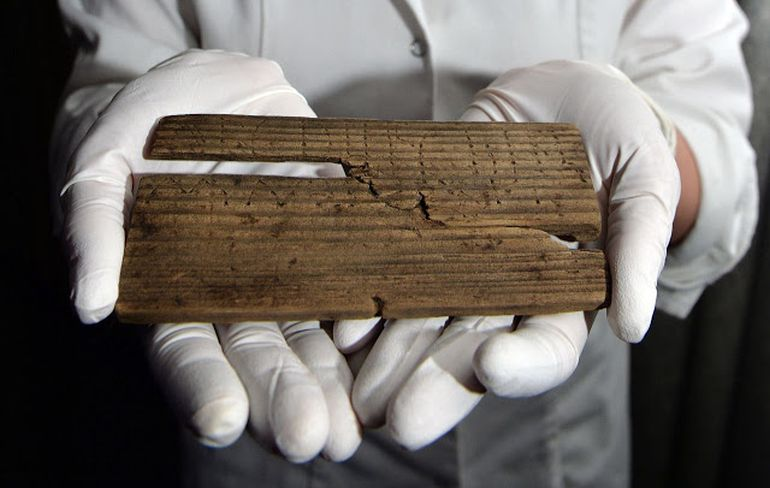 Archaeologists Find 2000-Year-Old Handwritten Documents In London-1