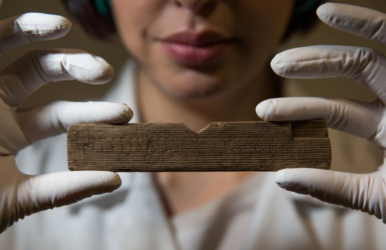 Archaeologists Find 2000-Year-Old Handwritten Documents In London-2