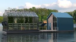 Eco Barge Floating Greenhouse Produces Clean Energy And Food-1