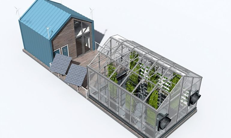 Eco Barge Floating Greenhouse Produces Clean Energy And Food-2