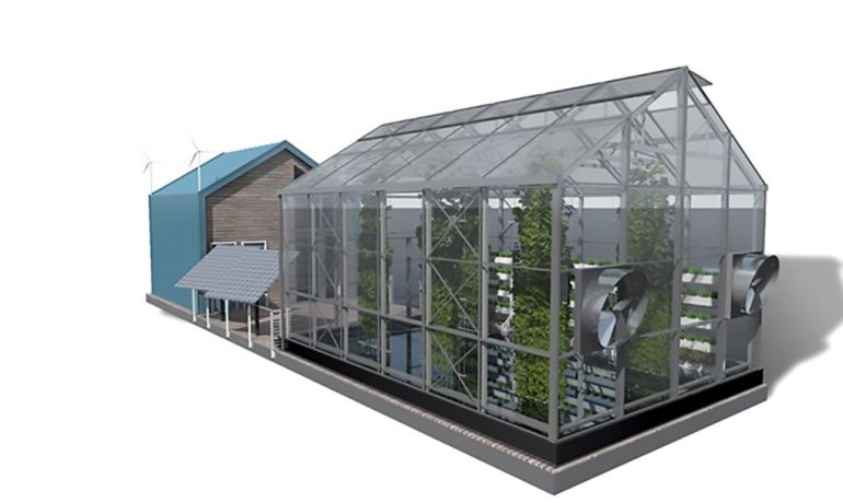 Eco Barge Floating Greenhouse Produces Clean Energy And Food-4