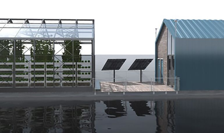 Eco Barge Floating Greenhouse Produces Clean Energy And Food-6